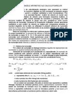Curs 1.14 Bazele Aritmetice Ale Calculatoarelor I
