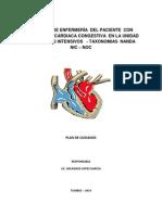 cuidadosdeenfermeradelpacienteconinsuficienciacardiacacongestivaenlaunidaddecuidadosintensivosnanda-140311185650-phpapp02