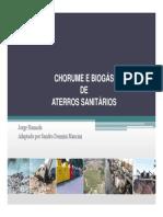 Chorume Biogas