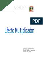 Efecto multiplicador
