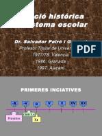 3. Evolución Histórica Del Sistema Escolar