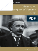 History and Philosophy of Science 2015