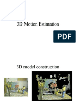3D Motion Estimation