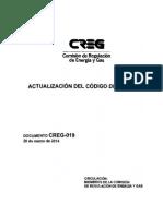 D-019-14 Actualización Código de Medida