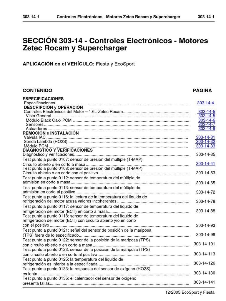 Controles Electr U00f3nicos Motores Zetec Rocam Y Supercharger