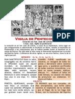 Vigilia de Pentecostés Estación en San Juan de Letrán  I clase, rojo, vigilia no penitencial