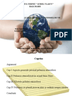 Efectele Poluarii Asupra Organismelor Vii