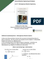 CHPR5501 Adv. Reaction Eng. Part 3