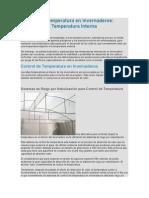 Control de Temperatura en Invernaderos