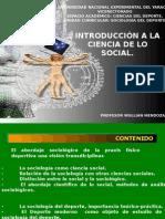 La Sociologia Como Ciencia