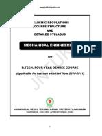III B.tech.(Mechanical Engg.) II Sem- Syllabus Book