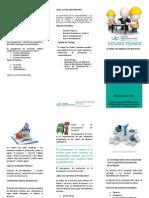 150504 Tríptico Estudio Técnico