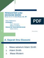 Pengantar Ilmu Ekonomi Mikro