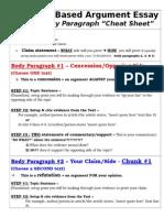 cheat sheet breakdown