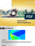 CFX Optimization (Airfoil) ANSYS