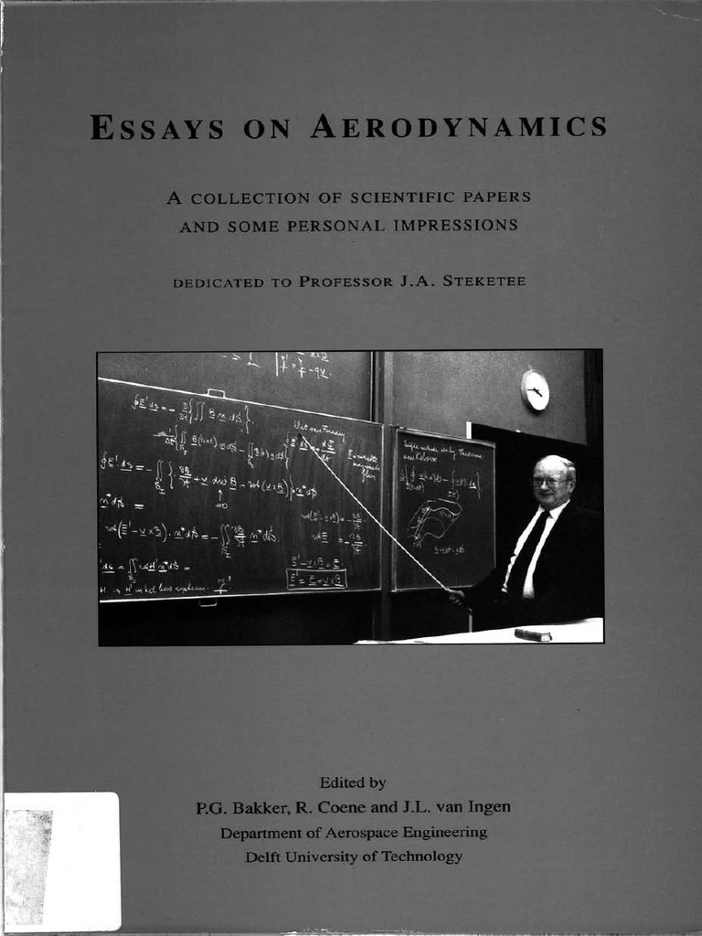 Essays On Aerodynamics Vortices Mach Number