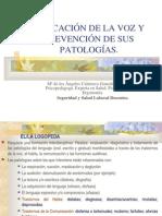 EducaciÓndelavozy PrevenciÓndesus PatologÍas.
