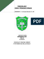 Teknik Pengecoran Akramullah