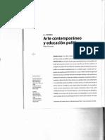 Arte Contemporáneo y Educación Política_Pablo Helguera