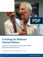 A Strategy for Medicare Payment Reform