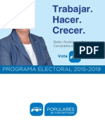 Programa PP Villa del Prado 2015-2019