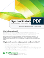 Synchro Studio 9 Brochure
