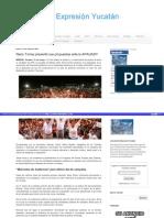 21-05-2015 Nerio Torres presentó sus propuestas ante la APAUADY.