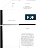 Ostrom - 2005- ()(omprendiendo la diversidad institucionall)