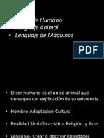 Lenguaje Animal, Humano, Maquinas.pdf