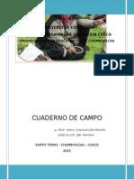 Cuaderno de Campo Mario