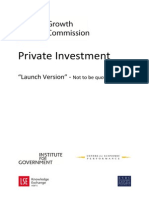 Private Investment in the UK