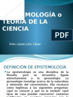 Epistemologia o Teoria de La Ciencia