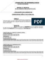 GABARITOS PRELIMINAR
