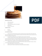 Cara Pembuatan Pancake Lezat