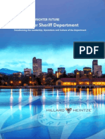 Report on Denver Sheriff Department