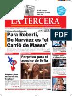 Diario La Tercera 21.05.2015