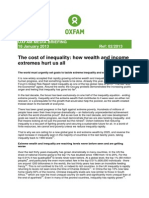 Cost of Inequality Oxfam Mb180113