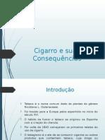 Cigarro e Suas Consequencias