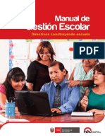 Manual de Gestion Escolar 2015 Ccesa Rayme