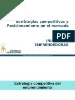 Estrategias Competitivas y Posicionamiento Estrategico 6 Marzo 2014
