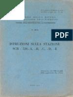 Istruzione sulla stazione SCR-536-A, -B, -C, -D, -E (5075) 1954