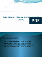 Mesin EDM Electrical Discharge Machines