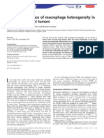 Clinical Significance of Macrophage Heterogeneity in Human Malignant Tumors