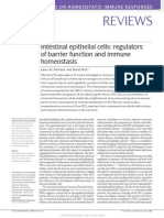 Intestinal Epithelial Cells Regulators of Barrier Function and Immune Homeostasis