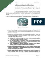 Principios Basicos de Configuración de Router Cisco