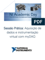 Aquisicao de Dados e Instrumentacao Virtual Com Mydaq