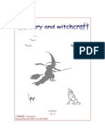 Witchcraft and Sorcery