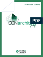 Manual de Usuario SONarchitect