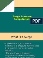 Surge Calculations