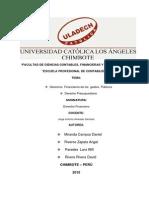 Derecho Financiero - Monografia
